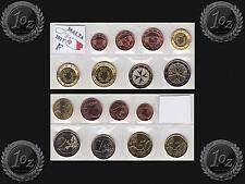 MALTA complete EURO SET 2017 - 8 coins SET Mint mark F (1 cent - 2 Euro) UNC NEW