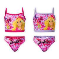 Girls Disney Barbie Swimsuit Kids Children Swimming Costume Bikini Size 2y-6y