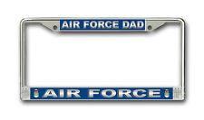 Air Force Dad Auto License Plate Frame - American Made - Veteran Approved!