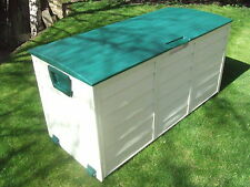 STARPLAST GARDEN STORAGE WATERPROOF CHEST UTILITY CUSHION BOX SHED PLASTIC GR