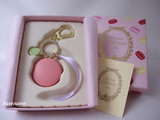 LADUREE Macaron Keychain  Keyring  Bag Charm Rose Pink from Japan New