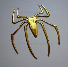 Gold Chrome effet Spider Badge Decal Autocollant Pour Porsche Cayman Cayenne R S Rs