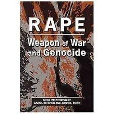 Rape: Weapon of War and Genocide, Rittner, Carol, Good Book