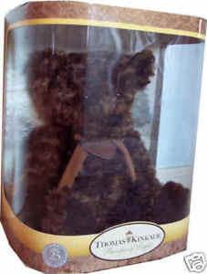 Thomas Kinkade 25th Anniversary Brown Collector's Bear