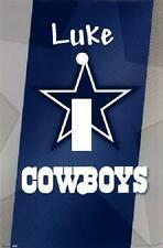 PERSONALIZED DALLAS COWBOYS FOOTBALL LIGHT SWITCH PLATE COVER
