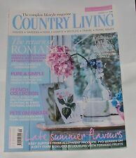 COUNTRY LIVING SEPTEMBER 2011 - THE RETURN OF ROMANCE/PURE AND SIMPLE