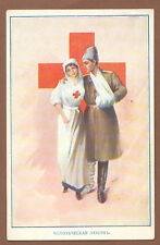 Russian WWI Red Cross Nurse PC 1915 Riga