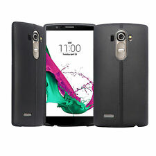 Chic Black Patterned Silicone Flexible Back Case Cover For LG G4