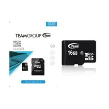 Micro SD Team Group 16GB EFFETTIVI (NO FAKE) Memoria Memory Card 16 GB classe 10