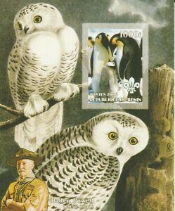 Penguins + Owls Benin Mint 636
