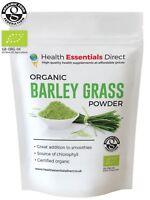 Organic EU Barley Grass Powder - (Detox, Chlorophyll) Choose Size: