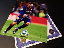 Lionel Messi Barcelona Authentic Signed 10x8 Photo Genuine autograph + COA