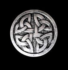 FLECHTMUSTER Keltisch NEU Gürtelschnalle MITTELALTER für 4cm breite GÜRTEL 1A#