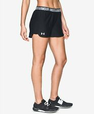 Women's Under Armour Play up 2.0 Black Shorts Size Small 1292231 002
