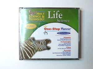 Holt science and technology life science one-stop planner cd