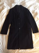 Alexander McQueen Men's Black Long Coat