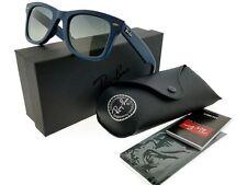 Ray-Ban RB2140606140 Wayfarer Blue Frame Grey Lens Genuine Sunglasses NIB