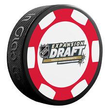 2017 Expansion Draft Vegas Golden Knights NHL Souvenir Hockey Puck - Poker Chip
