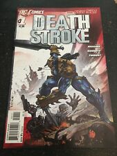 Deathstroke#1 Incredible Condition 9.4(2011) Bisley Cover!!