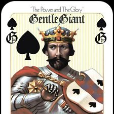 ADESIVO STICKER Gentle Giant The Power and the Glory