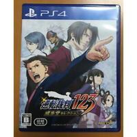 PS4 Gyakuten Saiban Phoenix Wright Ace Attorney123 PlayStation 4 Japan Import