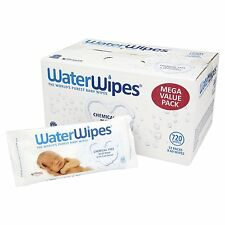 Waterwipes libre de productos químicos Baby Wipes Paquete de 12 X 60 Toallitas Toallitas de alta calidad (720)