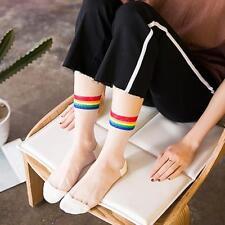 1Pair Women Ultrathin Transparent Elastic Crystal Lace Short Sock Ankle-Sock