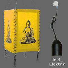 Papierlampe inkl. Elektrik Papierleuchte Buddha Orissa Nepal Kinderzimmer Lampe