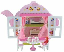 Kids Toys Bubbadoo Teapot Doll House Playset Wooden Fun Play Child Toy Xmas Gift