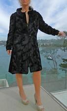 VINTAGE Couture Glamour 1930s-40s Original Nostalgia Silk Velvet Rare Retro Coat
