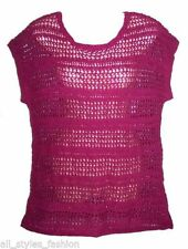 Plus Acrylic Knit Tops & Blouses for Women