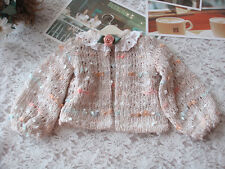 Lovely Sugar Short Cardigan Girl Sweater For 1/4 1/6 BJD SD MSD  Clothes CW1