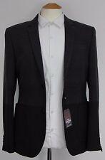 Men's Harry Brown, Grey and Black striped blazer (38R)... sample 498