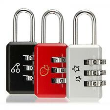 Luggage Code 3 Digit Password Metal Dial Combination Lock