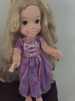 "My First Disney Princess Rapunzel Toddler Doll 15"" w/ Dress"