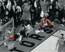 Kawhi Leonard Game 7 Buzzer Beater Toronto Raptors UNSIGNED 8X10 Photo B&W 2