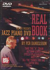 Livre réel piano jazz DVD apprendre à jouer de normes de scolarité par danielson