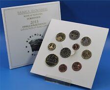 SLOVENIE  SLOVENIA - 2013  BU-Set 1 cent to  2 euro coins + 2 € 2013 +3 € Coin