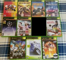 GIOCO XBOX 1 SUPER LOTTO LOT 10 GIOCHI GAMES OFF ROAD FIFA 06 TOP SPIN BLOODWAKE