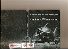 BATMAN DARK KNIGHT RISES BLURAY / BLU RAY STEELBOOK VERSION 2 DISC STEEL BOOK