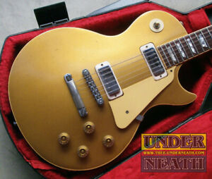 Gibson 1979 Les Paul Deluxe Gold Top Used