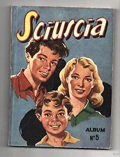 SCIUSCIA Album n°5 (n°50 à 59). 1950. Complet bel état