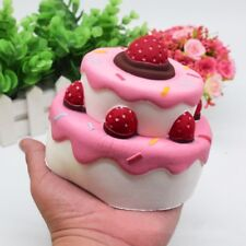 Slow Rising KAWAII Squishy Squeeze Toys Jumbo Squishies Scented Stress Relief Cake