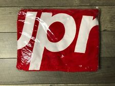 Supreme Beach Towel Red DS New Sealed In Bag SS13 Box Logo