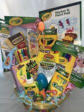 Large Kids Gift Basket🌞Boy Girl🌞Filled w/a ton of Art Supplies Birthday