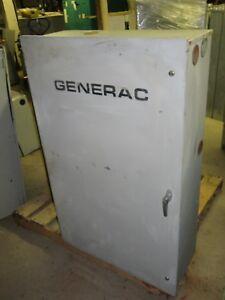 GENERAC ATS AUTOMATIC TRANSFER SWITCH 93A01724-W 200A 120/240V 60HZ WARRANTY