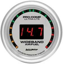 "Auto Meter 4379 Gauge Air/Fuel Ratio Wideband 2 1/16"" Digital Ultra Lite"
