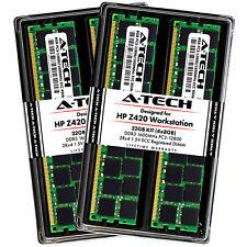A-Tech 32GB 4 x 8GB PC3-12800 DDR3 1600MHz ECC Registered Memory RAM for HP Z420