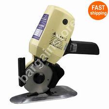 YJ-100 Cloth Cutter Fabric Cutting Machine Shear Rotary Electric Scissors & 220V