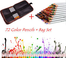 72 Colors Fine Marco Non-toxic Oil Base Pencils Art Sketch Drawing Tool with bag